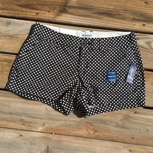 NEW WITH TAGS OLD NAVY BLACK/ WHITE DOTS SIZE-2